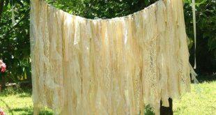 Wedding Backdrop Curtain Garland, Boho Wedding Decor, Rustic Wedding Decorations, Shabby Chic Bohemian Bridal Shower Decor, Baby Shower