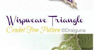 Wispweave Lace Deckchen häkeln kostenlose Muster,  #Deckchen #Häkeln #kostenlose #Lace #Muste...