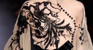 Zuhair Murad by tiffany. Now that's a blouse. If I was 30 years younger an...