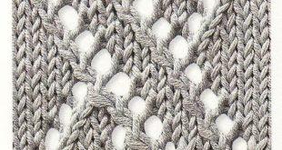 ajour/lace knitting pattern - #ajourlace #knitting #pattern #socksdesign