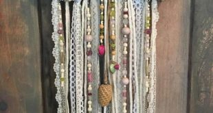#boho #dekor #jewelryvintage #kinderzimmer #lace #mobile